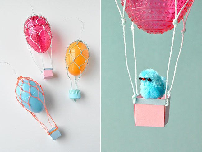 Easter Egg Hot Air Balloons Pictures Photos And Images