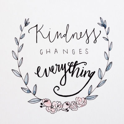 Kindness Changes Everything Pictures, Photos, and Images