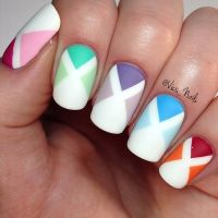 X-Shaped Spring Nail Art Pictures, Photos, and Images for ...