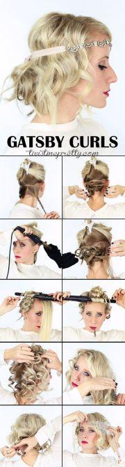 gatsby curls tutorial
