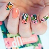 Tropical Nails Pictures, Photos, and Images for Facebook ...