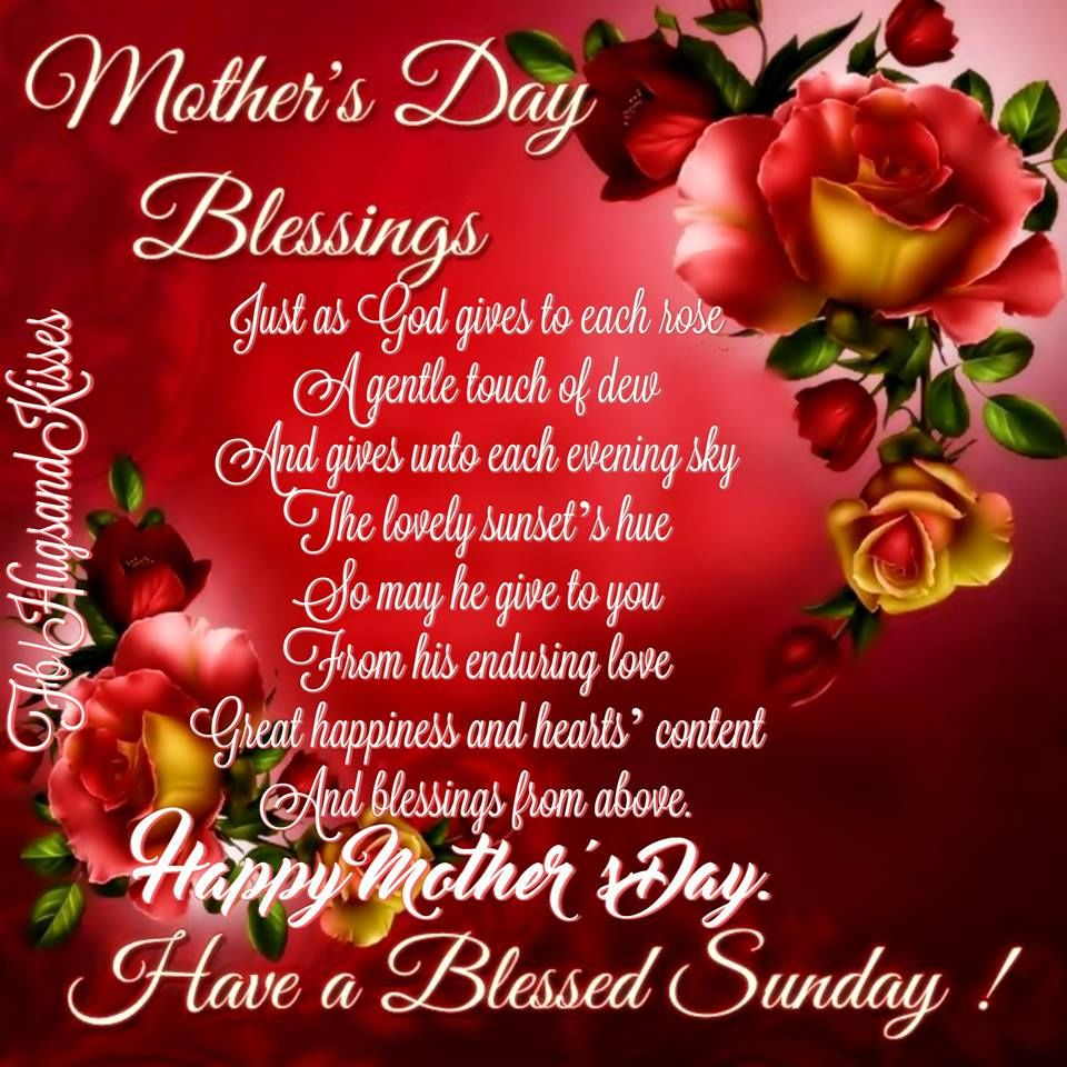 mothers day blessings happy