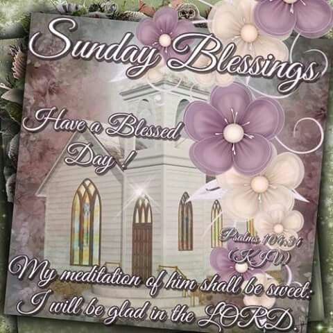 Sunday Blessings Have A Blessed Day Image Quote Pictures