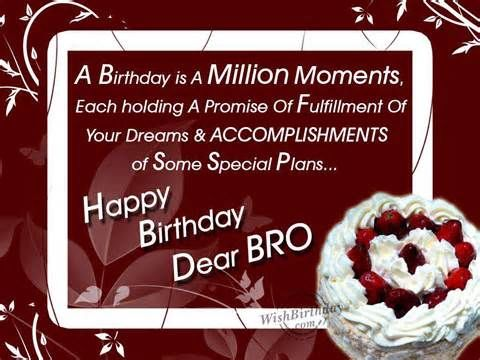Happy Birthday Dear Bro Pictures Photos And Images For Facebook Tumblr Pinterest And Twitter