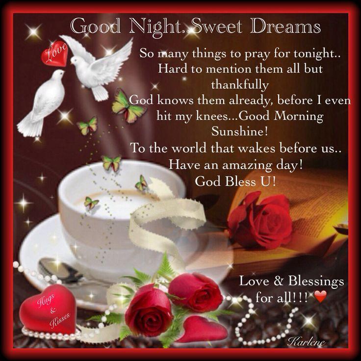 Goodnight Quotes Love My Prayers