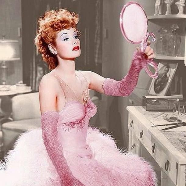 Lucille Ball In Her Dressing Room Pictures Photos And