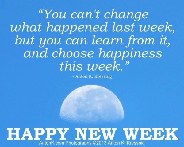 Happy New Week Pictures Photos and Images for Facebook