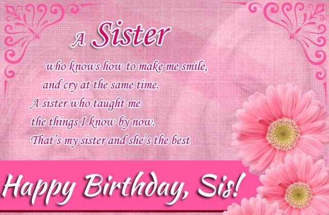 Happy Birthday Sis Pictures Photos And Images For