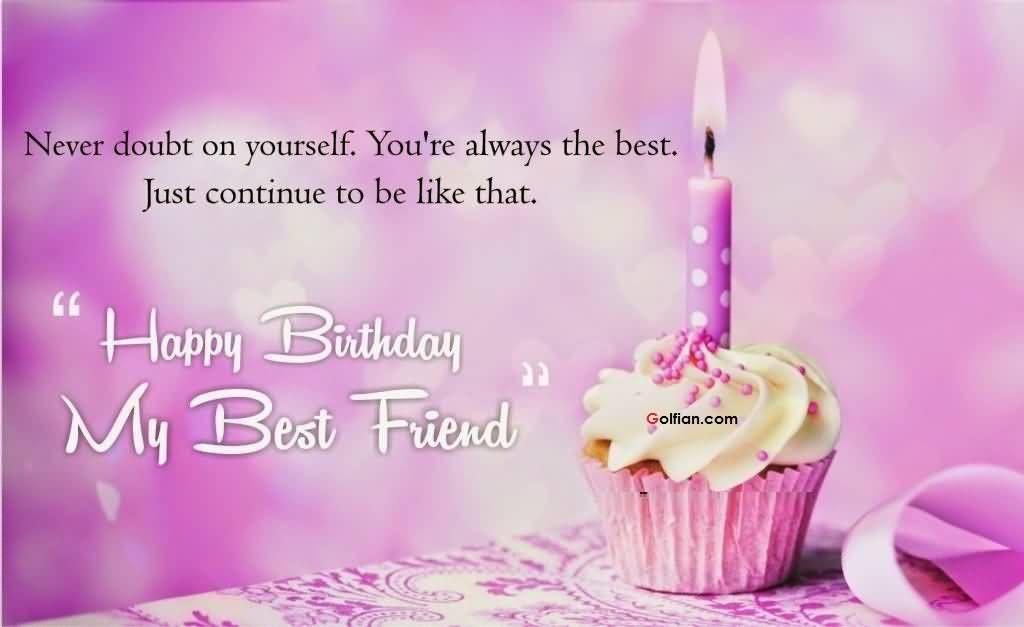 happy birthday my best
