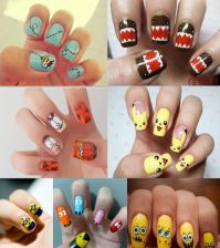 Creative Nail Art Ideas Pictures, Photos, and Images for