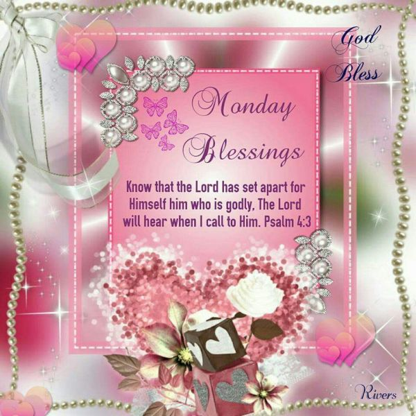 20 Monday Blessings Quotes Pictures And Ideas On Weric