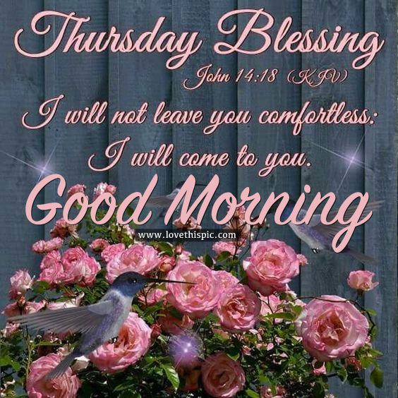 Thursday Love Morning Blessing Quotes