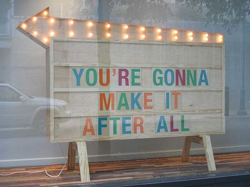 After All Make Youre Going It