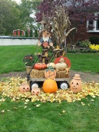 Outdoor Fall Decorations Pictures, Photos, and Images for ...