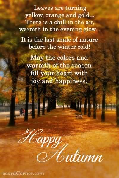 Happy Autumn Pictures Photos and Images for Facebook