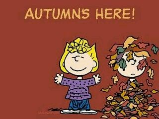 Peanuts Fall Desktop Wallpaper Autumn S Here Pictures Photos And Images For Facebook