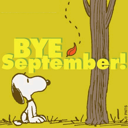 Peanuts Wallpaper Fall Snoopy Bye September Pictures Photos And Images For