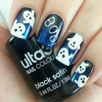 Ghost Nail Art Pictures, Photos, and Images for Facebook ...