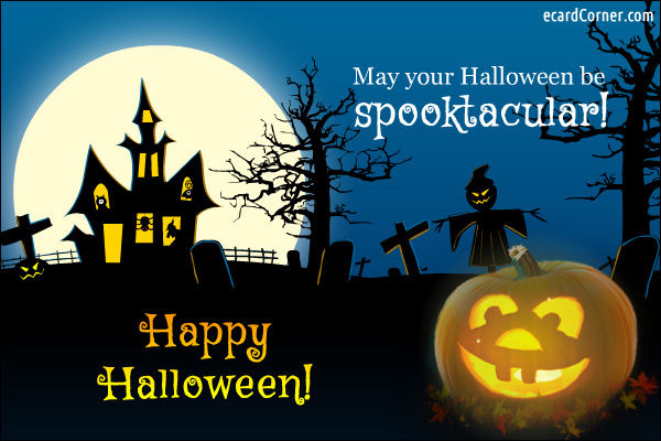Cute Quote Wallpaper Download May Your Halloween Be Spooktacular Happy Halloween