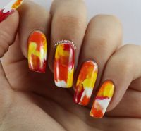 Easy Nail Designs For Thanksgiving - Nail Ftempo