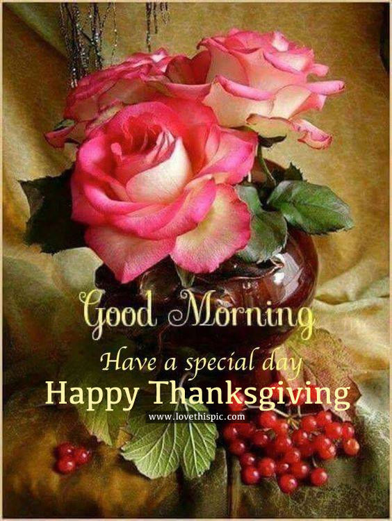 Drops Rainbow 3d Wallpaper Good Morning Have A Special Day Happy Thanksgiving