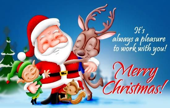 Its Always A Pleasure To Work With You Merry Christmas Pictures Photos and Images for