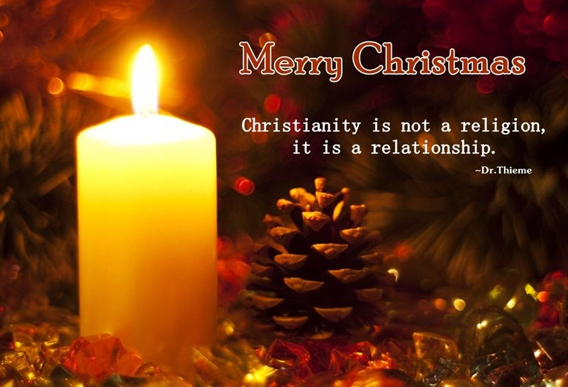 Merry Christmas Christianity Is Not A Religion It Is A