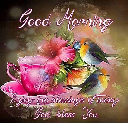 good morning enjoy the