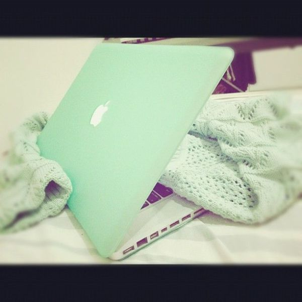 Mint Colored Laptop Pictures Photos and Images for