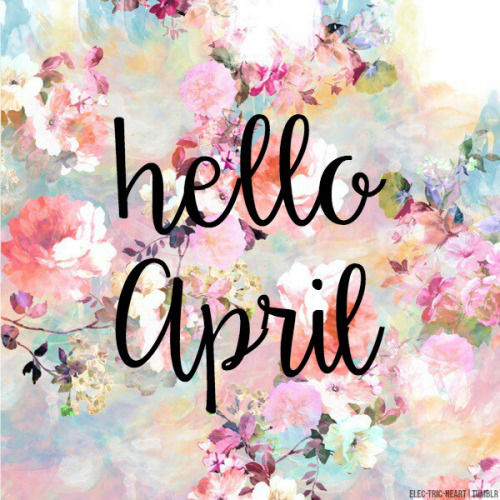 Cute Pretty Flower Calendar Wallpaper Hello April Pictures Photos And Images For Facebook