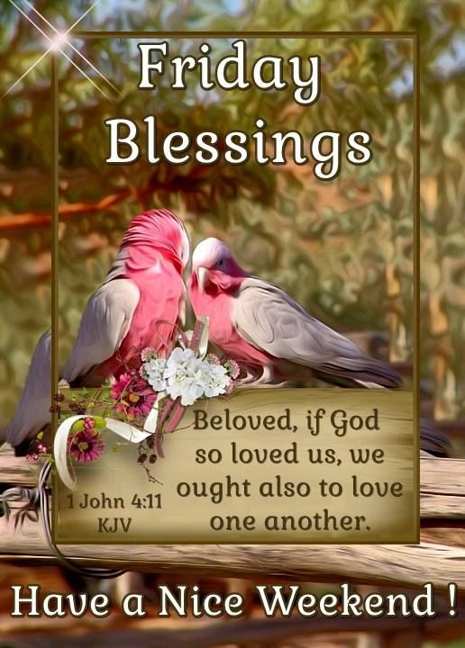 Friday Blessings Beloved God Pictures Photos And Images