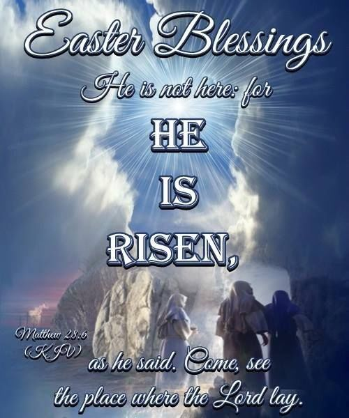 Easter Blessings He Is Risen Pictures Photos And Images