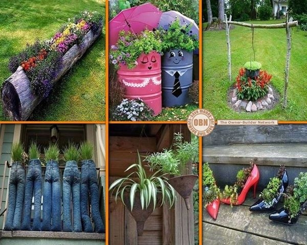 Diy Garden Ideas On Pinterest PDF