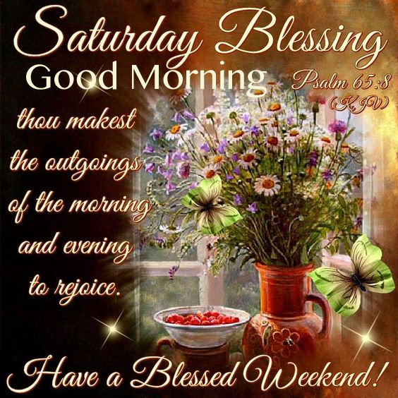 Morning Blessings Quotes Friday Good Weekend