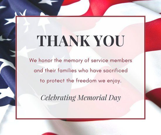 Thank YouCelebrating Memorial Day Pictures Photos And