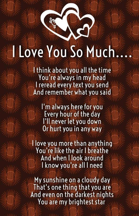 Poems Love Husband