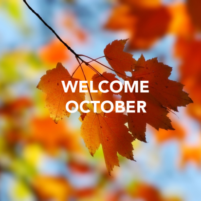 Image result for welcome october