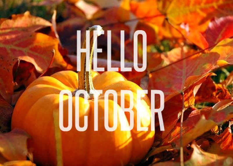 Fall Wallpaper Backgrounds Pumpkins Hello October Pictures Photos And Images For Facebook