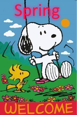 snoopy spring quote