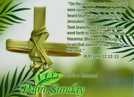 palm sunday inspirational quotes