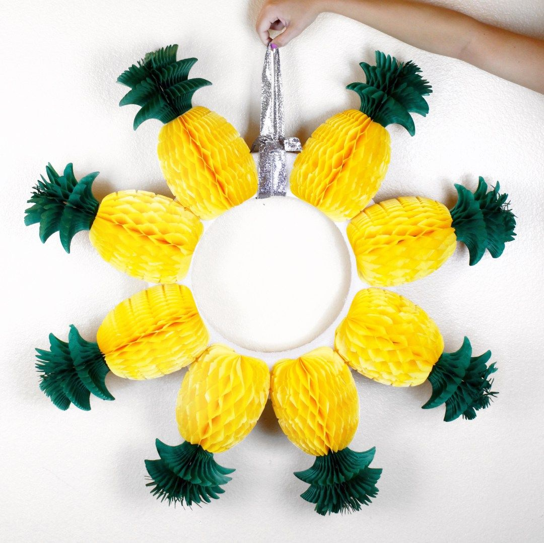 Pineapple Wreath Pictures Photos And Images For Facebook