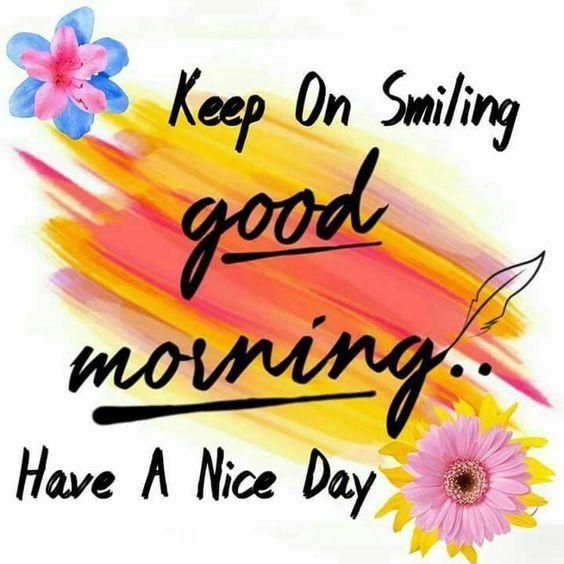 keep on smiling good