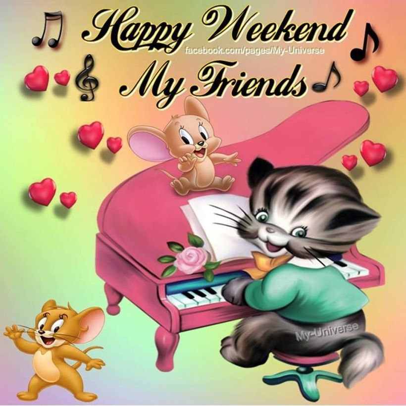 Happy Weekend My Friends Pictures, Photos, and Images for Facebook, Tumblr,  Pinterest, and Twitter