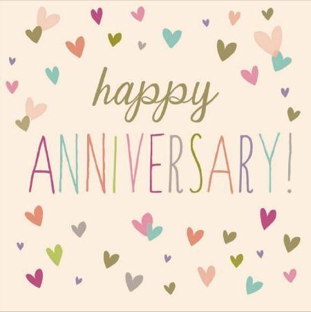 heart happy anniversary image