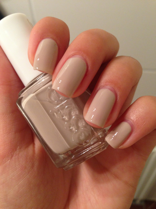 Essie Nude Nails Pictures Photos and Images for Facebook Tumblr Pinterest and Twitter