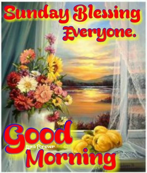 Good Morning Sunday Images