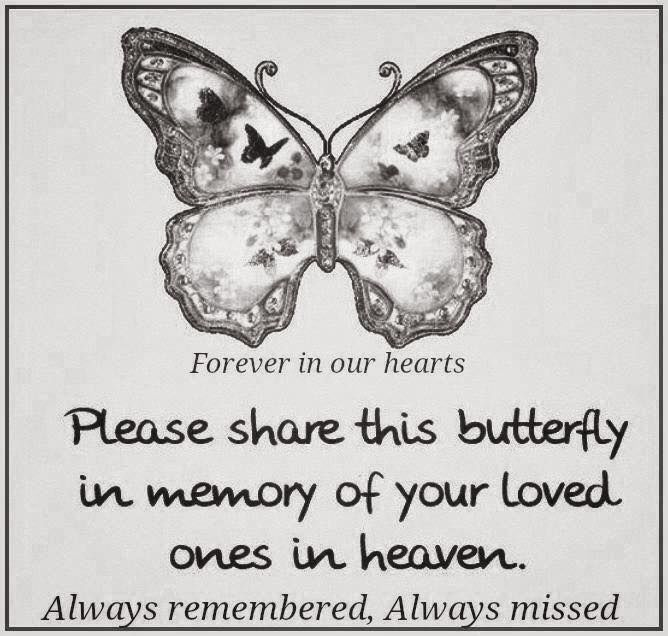 Please Share This Butterfly In Memory Of Your Loved One In