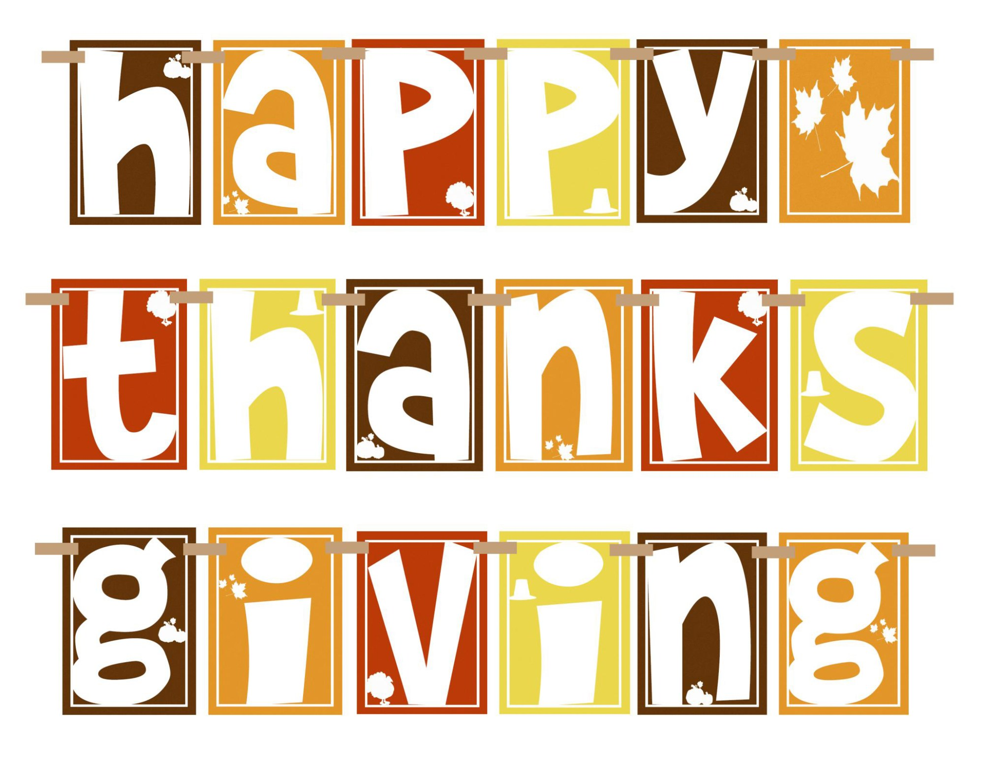 hight resolution of happy thanksgiving clipart