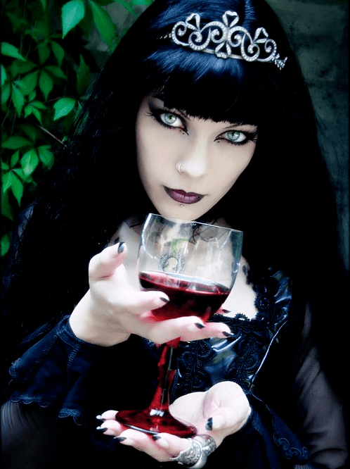 Goth Queen Makeup Pictures. Photos. and Images for Facebook. Tumblr. Pinterest. and Twitter