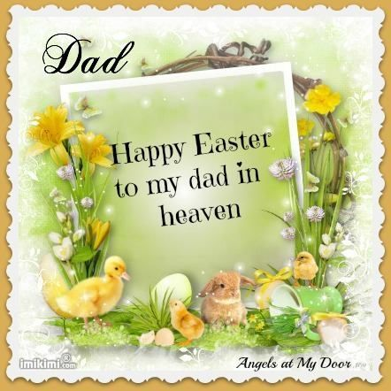 happy easter to my